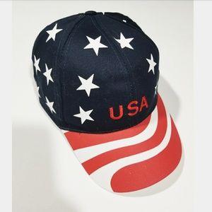 🔵2/$15 USA America Street Style 80s 90s Hat Cap